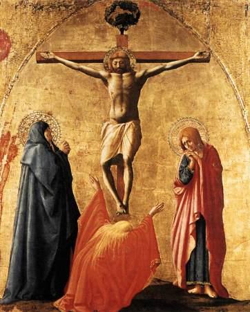 Masaccio - Crucifixion