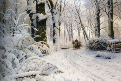 Peder Mork Monsted - Forest in Winter