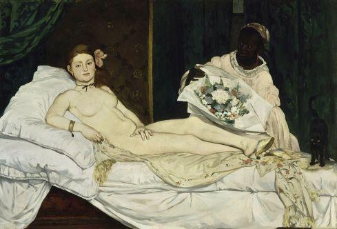 Édouard Manet - Olympia, 1863