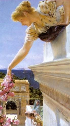 Sir Lawrence Alma-Tadema - God Speed!