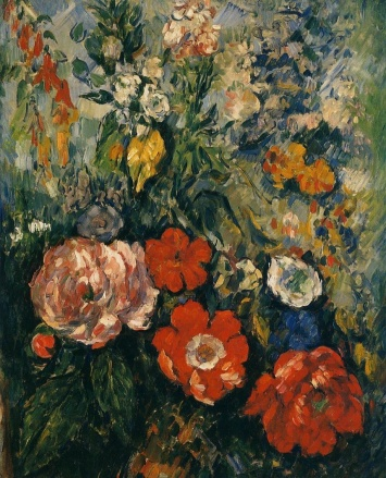Paul Cézanne - Bouquet of Flowers