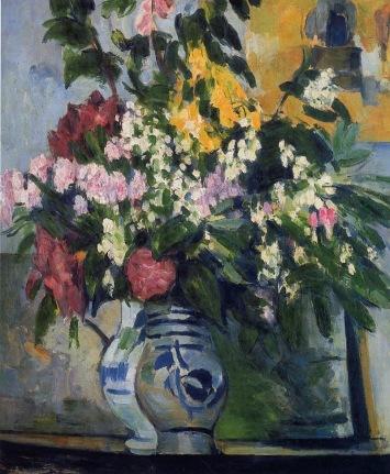 Paul Cézanne - Two Vases of Flowers