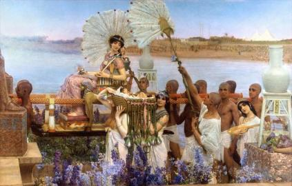 Sir Lawrence Alma-Tadema - The Finding of Moses