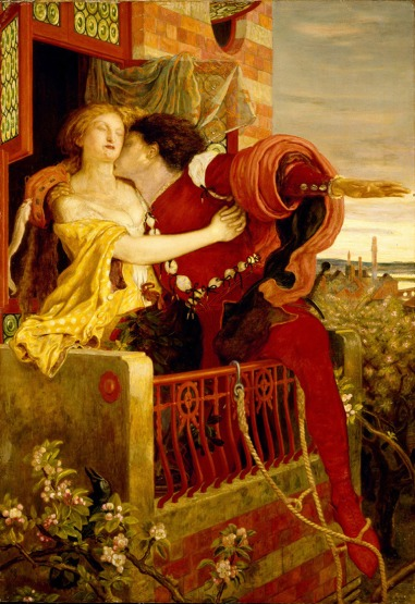 Ford Madox Brown.Romeo and Juliet