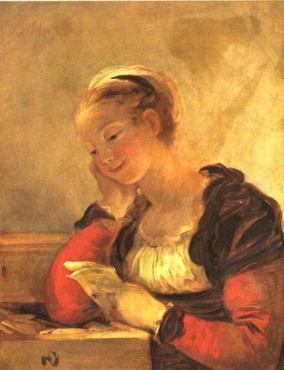 Jean-Honoré Fragonard - The Letter