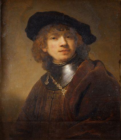 Rembrandt - Self-Portrait as a Young Man