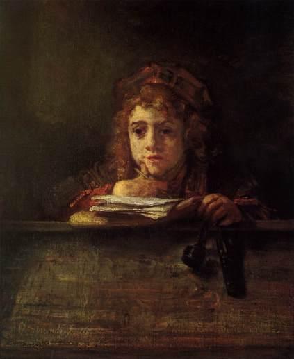 Rembrandt - Titus at a Desk